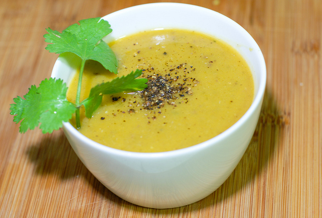 Meals That Heal -Warming Ginger, Garlic Soup January 17, 2018